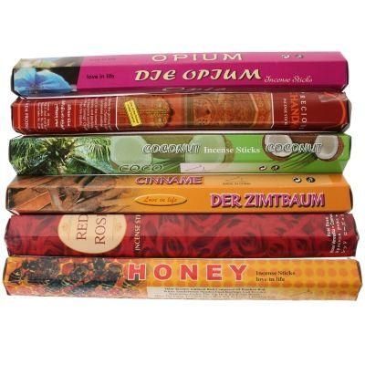 Räucherstäbchen MIX Set verschiedene Sorten Incense Sticks - 2
