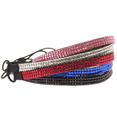 Luxus Strass Glitzer Haarband in mehreren Farben - 1