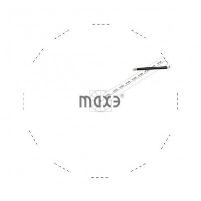 Designer Wanduhr für Wohnzimmer Zifferblatt Zahlen Deko XXL 3D - 5