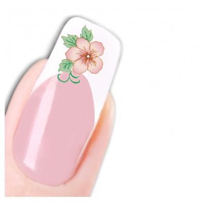 Nagel Sticker Tattoo Nail Art Blume Aufkleber Neu! - 1