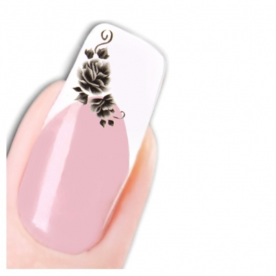 Tattoo Nail Art Flower Aufkleber Blume Nagel Sticker Neu! - 1
