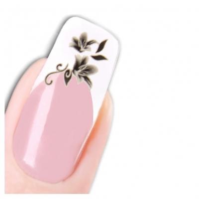 Tattoo Nail Art Flower Aufkleber Blume Nagel Sticker Neu! - 1