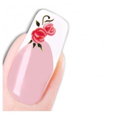 Tattoo Nail Art Blume Aufkleber Flower Nagel Sticker Neu! - 1