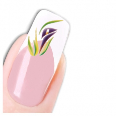 Tattoo Nail Art Blume Aufkleber Nagel Sticker Neu! - 1