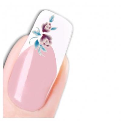 Tattoo Nail Art Blume Aufkleber Nagel Sticker Neu! - 1
