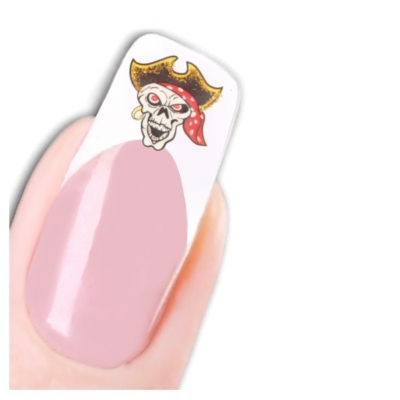 Tattoo Nail Art Totenkopf Schädel Aufkleber Nagel Sticker Neu! - 1
