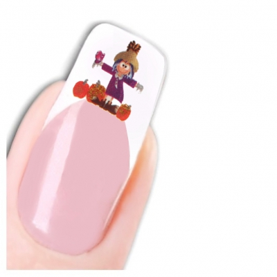 Tattoo Nail Art Halloween Aufkleber Nagel Sticker Neu! - 1