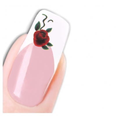 Tattoo Nail Art Rose Aufkleber Nagel Sticker Neu! - 1