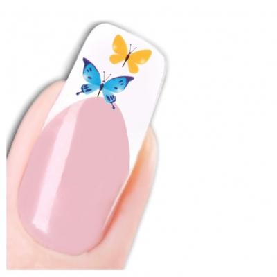 Tattoo Nail Art Schmetterling Aufkleber Nagel Sticker Neu! - 1