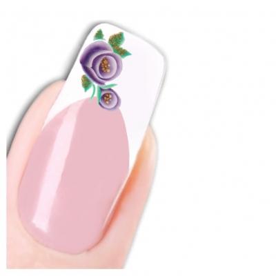 Tattoo Nail Art Orchidee Aufkleber Nagel Sticker Neu! - 1
