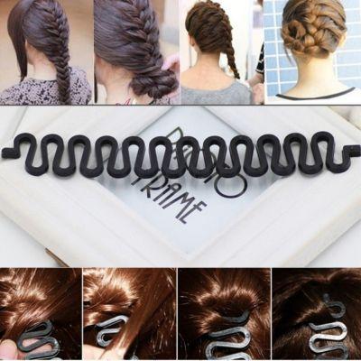 Frisurenhilfe zum Flechten der Haare - 2