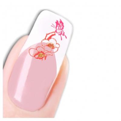 Tattoo Nail Art Kirschblüten Aufkleber Nagel Sticker Neu! - 1