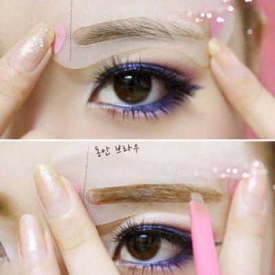3er SET Augenbrauen Schablonen - 1