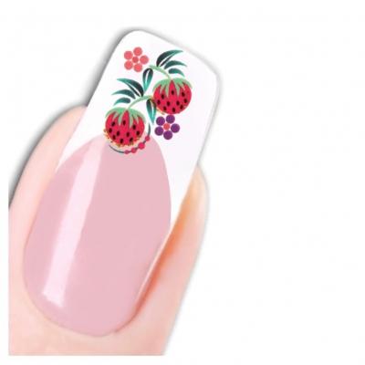 Tattoo Nail Art Erdbeere Aufkleber Nagel Sticker Neu! - 1
