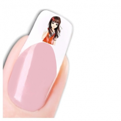 Tattoo Nail Art Manga Aufkleber Nagel Sticker Neu! - 1