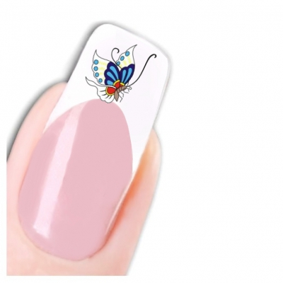 Tattoo Nail Art Schmetterling Aufkleber Nagel Sticker Neu! - 1