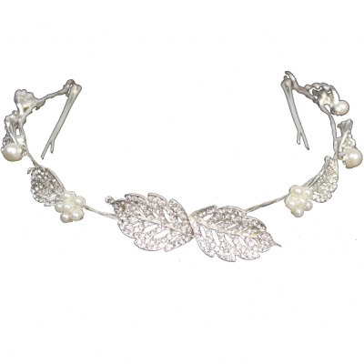 Luxus Strass Diadem Tiara in silber - 3