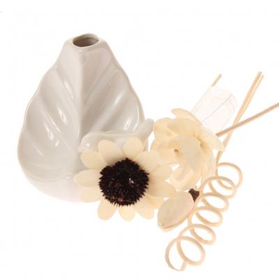 Duftöl Deko Keramik Vase mit kleinem Vogel verschiedene Düfte 30 ml - 2