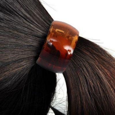 Schöner Haarring in Braun - 1
