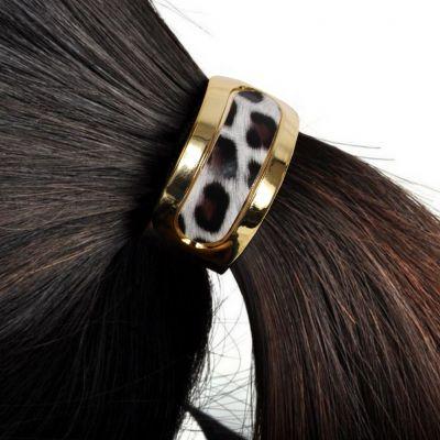 Haarring Leoppard Muster in verschiedenen Farben - 2