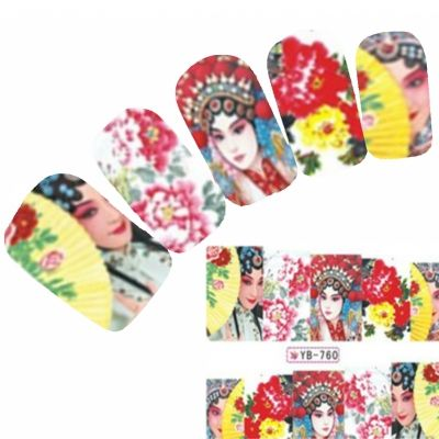 Tattoo Nail Art Aufkleber Japan Manga Nagel Sticker Neu! - 0