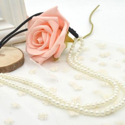 Haarband mit Perlen - 1