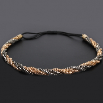 Luxus Haarband mit Haarkette - 1