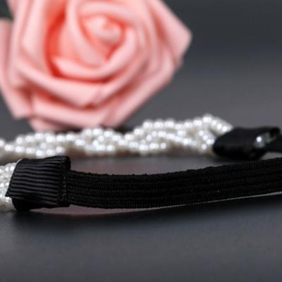 Haarband mit Perlen - 4