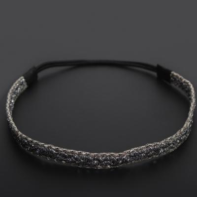 Haarband in Silberlook - 1
