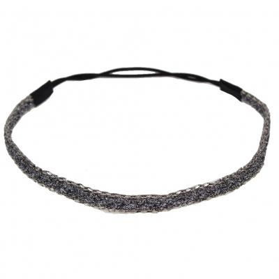 Haarband in Silberlook - 2