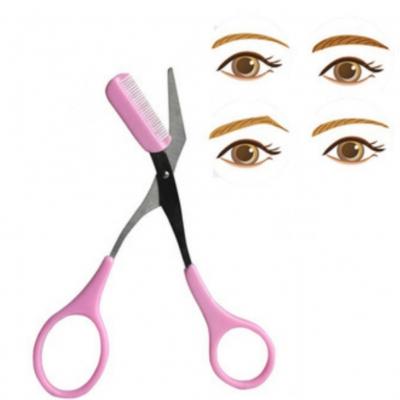 Augenbrauen Schere mit Kamm - 2