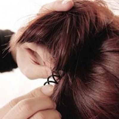 Magische Haarklammer Spirale - 2