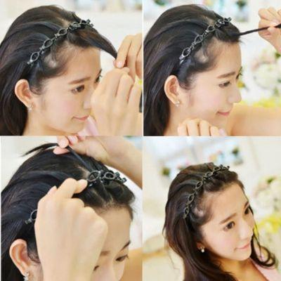 Frisurenhilfe Haarreif mit Klammern - 1