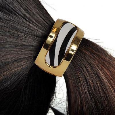 Haarring mit Zebra-Look - 2