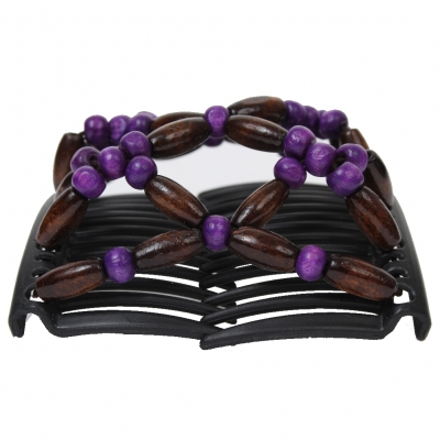 Trend African Butterfly Hairclip lila - 1