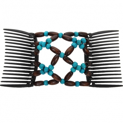 Trend African Butterfly Hairclip türkis - 2