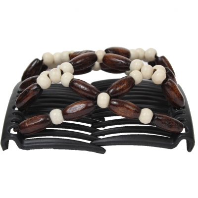 Trend African Butterfly Hairclip weiß - 1