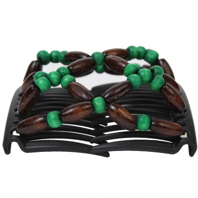 Trend African Butterfly Hairclip grün - 1