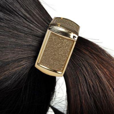 Schöner Eckiger Haarring in verschiedenen Farben - 1