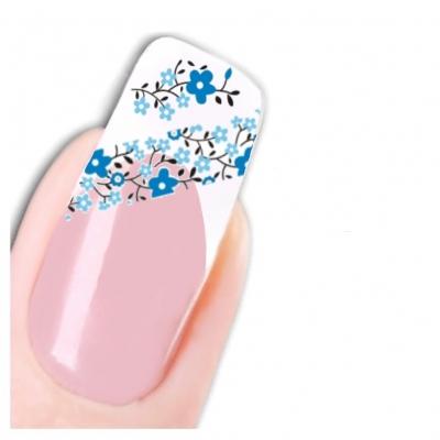 Tattoo Nail Art Blumen Aufkleber Nagel Sticker Neu! - 1