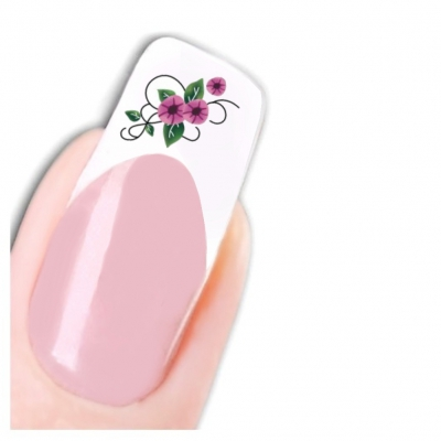 Tattoo Nail Art Blume Ornamente Aufkleber Nagel Sticker - 1