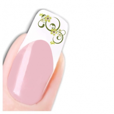Tattoo Nail Art Blumen Aufkleber Nagel Sticker - 1