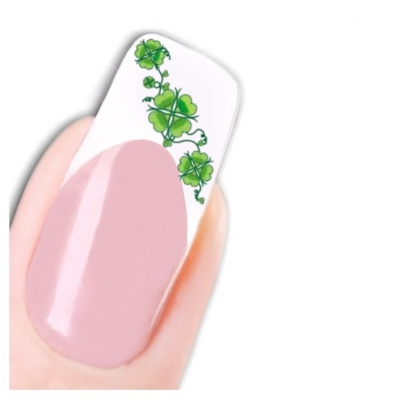 Tattoo Nail Art Kleeblatt Aufkleber Nagel Sticker - 1