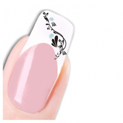 Tattoo Nail Art Ornamente Aufkleber Nagel Sticker - 1