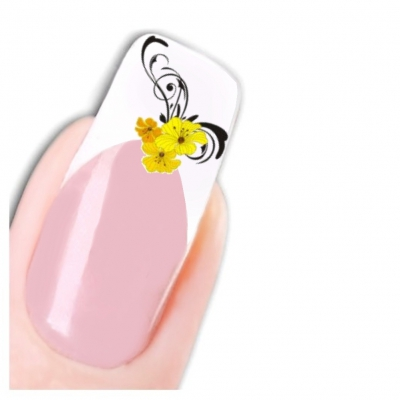 Tattoo Nail Art Ornamente Rose Aufkleber Nagel Sticker - 1
