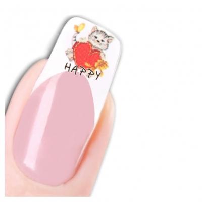 Tattoo Nail Art Katzen Aufkleber Nagel Sticker - 1