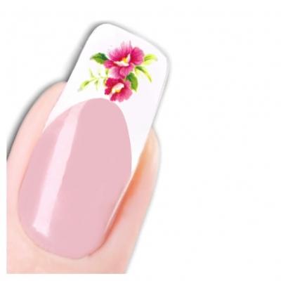 Tattoo Nail Art Blumen Schmetterlinge Aufkleber Nagel Sticker - 1