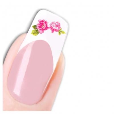 Tattoo Nail Art Lebensechte Blumen Aufkleber Nagel Sticker - 1