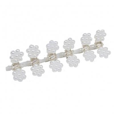Mini Haarklammern Perlen Hochzeit Haarclip Haarkneifer Haarspange Claw - 2