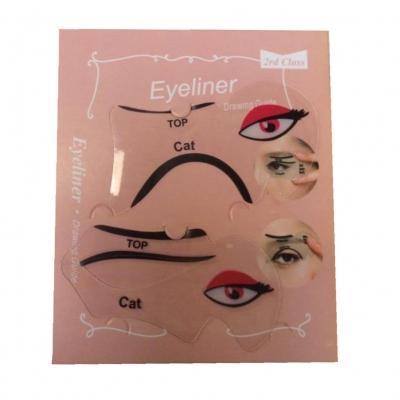 2er SET Eyeliner Schablonen - 1
